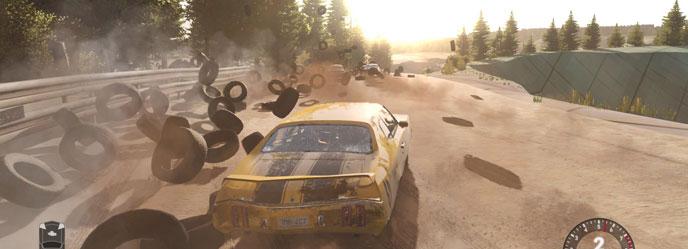 next car game pneus