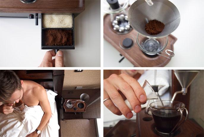 reveil café barisieur